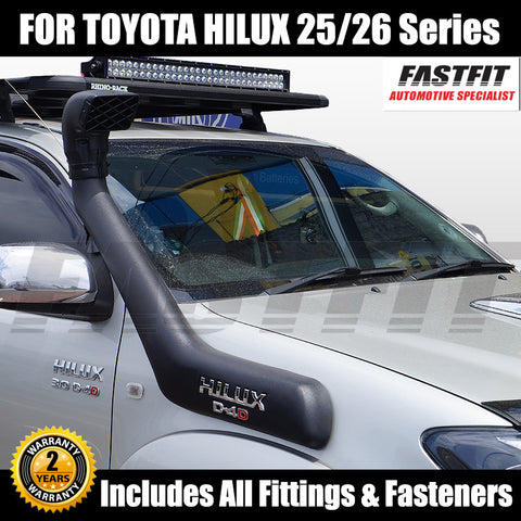 Snorkel Kit To Suit Toyota Hilux 25/26 Series - 04/2005 ON
