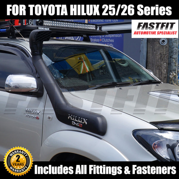 Snorkel Kit To Suit Toyota Hilux 25/26 Series 04/2005-ON