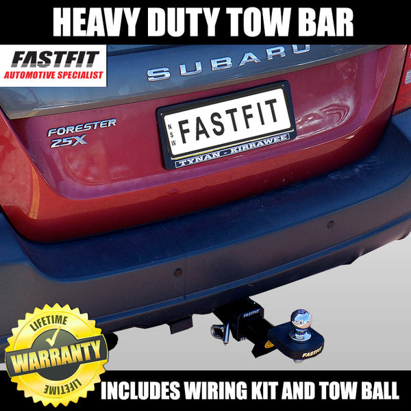 FastFit Heavy Duty Tow Bar To Suit Subaru Forester - 08/1997 - 03/2008