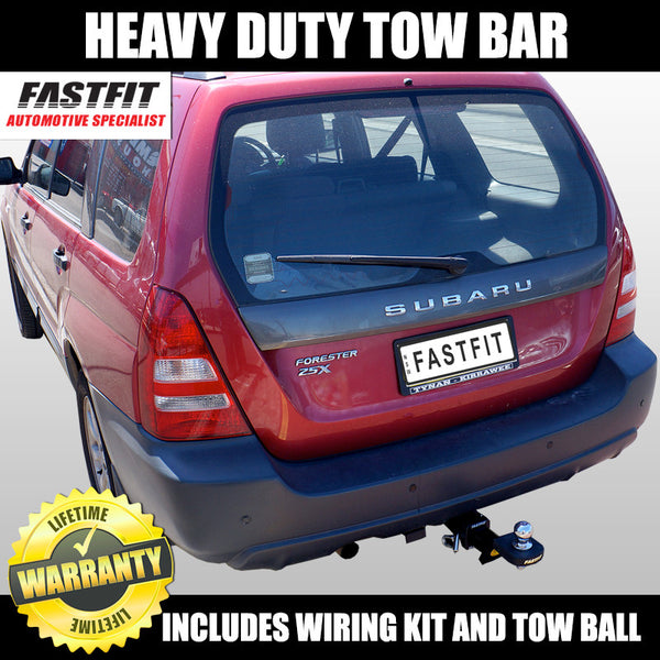 FastFit Heavy Duty Tow Bar To Suit Subaru Forester - 04/2008 - 09/2012