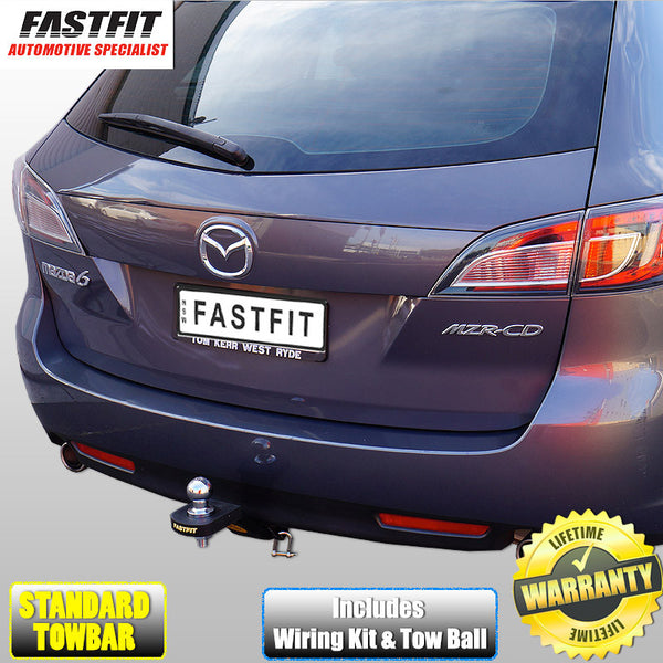 FastFit Standard Towbar to Suit Mazda 6 Sedan, Hatch & Wagon 04/2008 - 11/2012