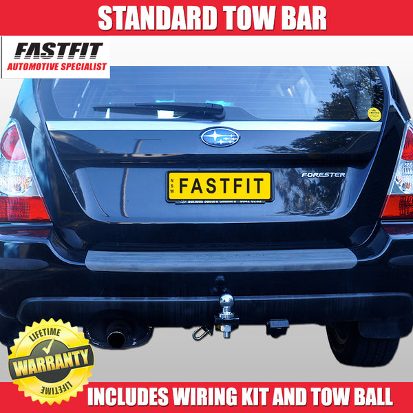 FastFit Class 2 Standard Tow Bar To Suit Subaru Forester - 07/2002 - 03/2008
