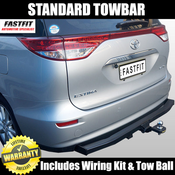 FastFit Standard Tow Bar to Suit Imported Toyota Estima 03/2006 ON