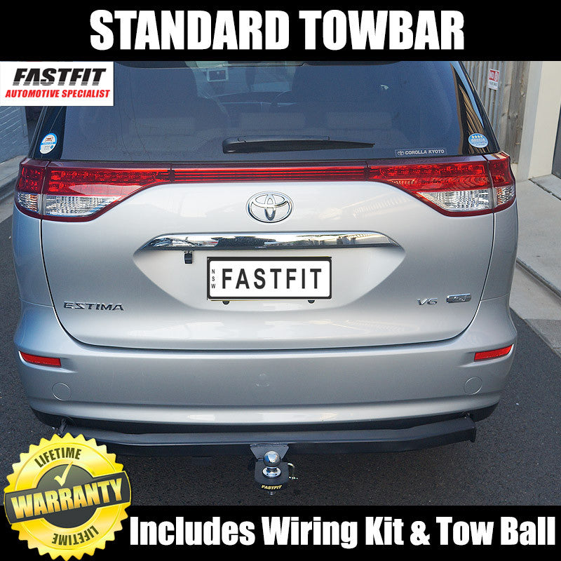 Fastfit Standard Tow Bar To Suit Imported Toyota Estima 03
