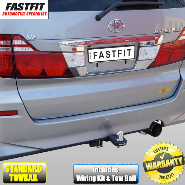 FastFit Standard Tow Bar to Suit Imported Toyota Alphard