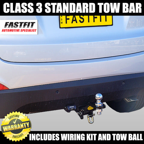FastFit Class 3 Standard Hitch Tow Bar To Suit Hyundai Tucson 08/2004 - 01/2010