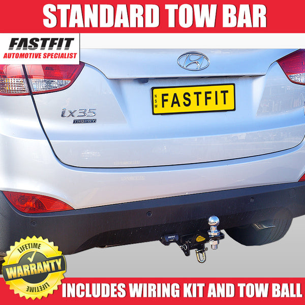 FastFit Class 3 Standard Hitch Tow Bar To Suit Hyundai ix35- 01/2010 ON