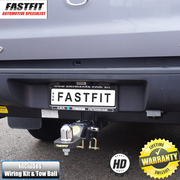 FastFit Heavy Duty Tow Bar To Suit Mazda BT50 TUB Body & Tray Hi-Rider 10/2011 - 07/2015