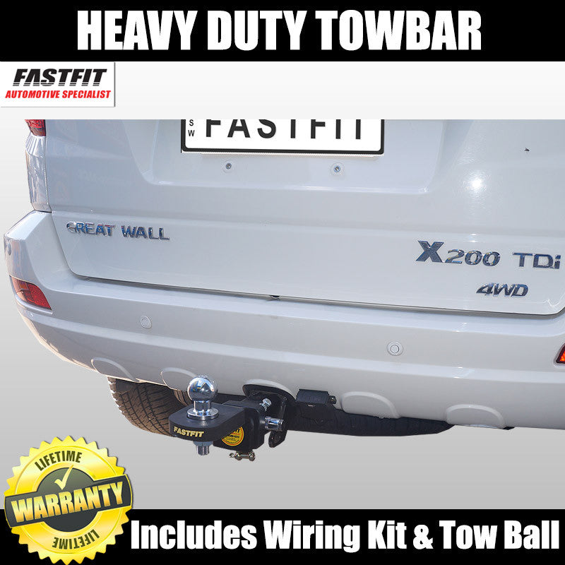 Fastfit Heavy Duty Hitch Tow Bar To Suit Great Wall X200