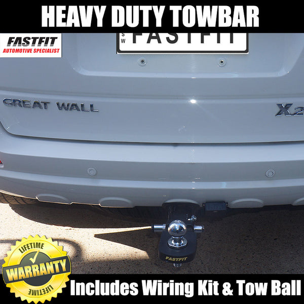 FastFit Heavy Duty Hitch Tow Bar To Suit Great Wall X200 Wagon 09/2009 ON