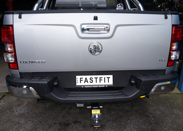 Fastfit Heavy Duty Tow Bar To Suit Holden Colorado With Step - 06/2012 ON