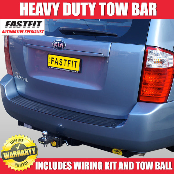 FastFit Class 4 Heavy Duty Hitch Tow Bar To Suit KIA Carnival 4W Wagon 08/1999 - 12/2005