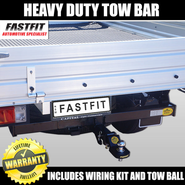 Fastfit Heavy Duty Towbar To Suit Ford Ranger Ute PX 2WD Low Rider C/Chassis - 09/2011 ON
