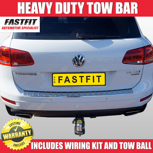 FastFit Heavy Duty Tow Bar To Suit Volkswagen Touareg - 08/2008 ON