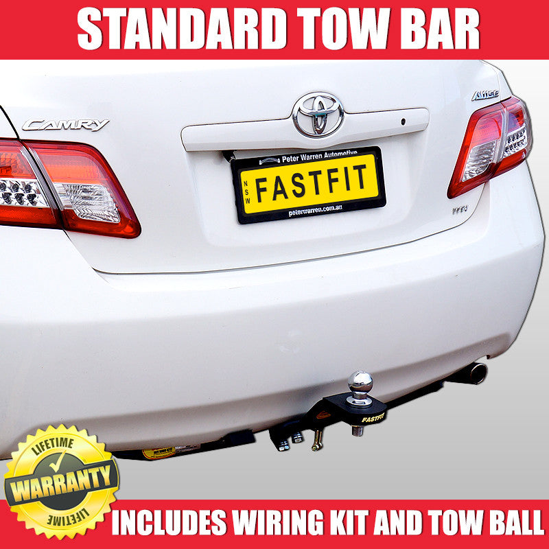 Astounding Fastfit Standard Tow Bar To Suit Toyota Camry Altise Wagon 06 2007 Wiring Cloud Nuvitbieswglorg