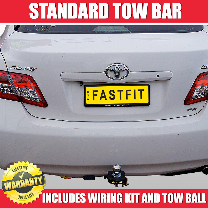 Sensational Fastfit Standard Tow Bar To Suit Toyota Camry Altise Wagon 06 2007 Wiring Cloud Nuvitbieswglorg