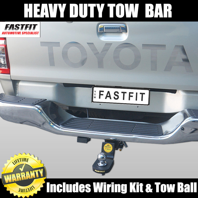 Fastfit Heavy Duty Tow Bar To Suit Toyota Hilux With Steps