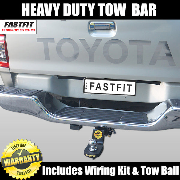 FastFit Heavy Duty Tow Bar To Suit Toyota Hilux With Steps - 04/2005 - 09/2015