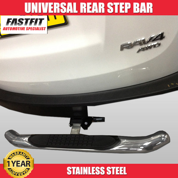FastFit Universal Stainless Steel Rear Step Bar