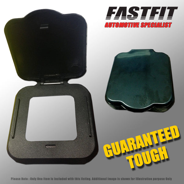 FastFit Heavy Duty Hitch Box Cover Black