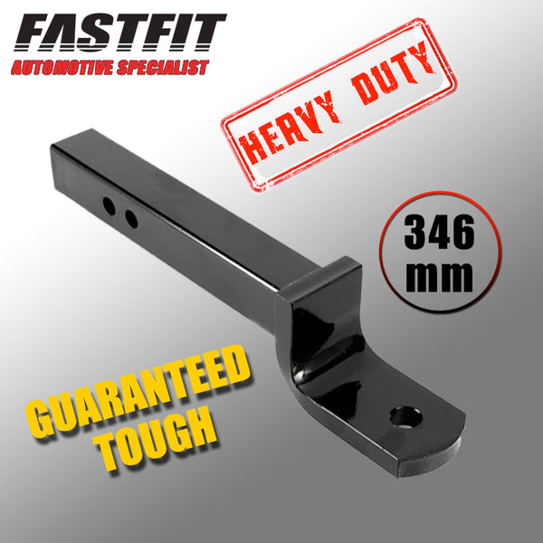 FastFit Heavy Duty 346mm Tow Ball Mount 75mm x 19mm Tongue