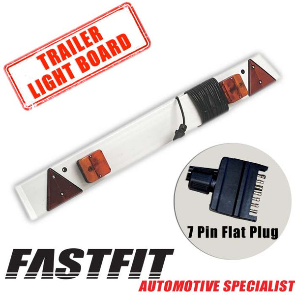 FastFit 1.5m Trailer Light Board For Trailers, Boats and Cycle Carriers