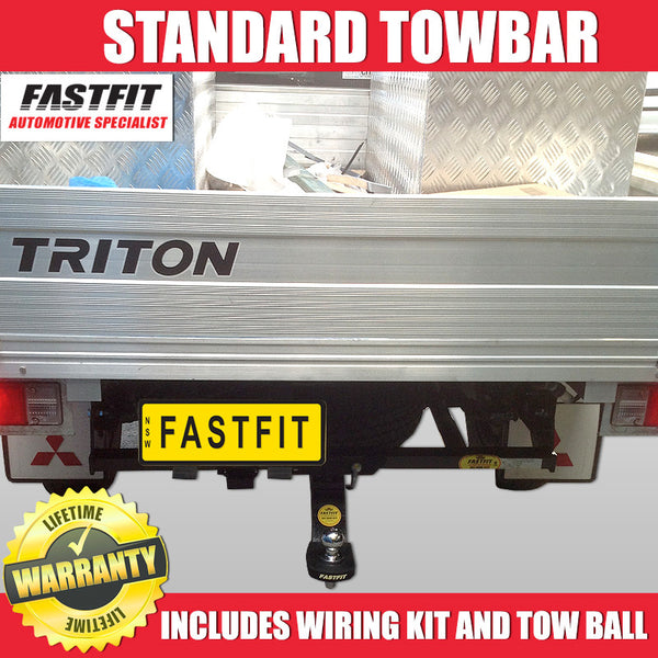 FastFit Standard Tow Bar To Suit Mitsubishi Triton UTE - 07/2006 ON