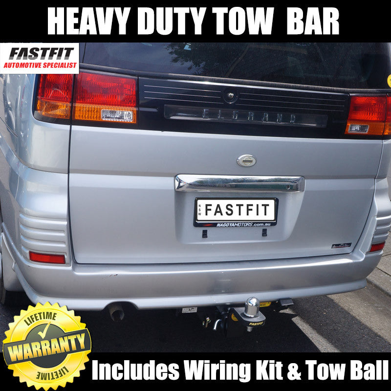 Fastfit Heavy Duty Hitch Tow Bar To Suit Nissan Elgrand