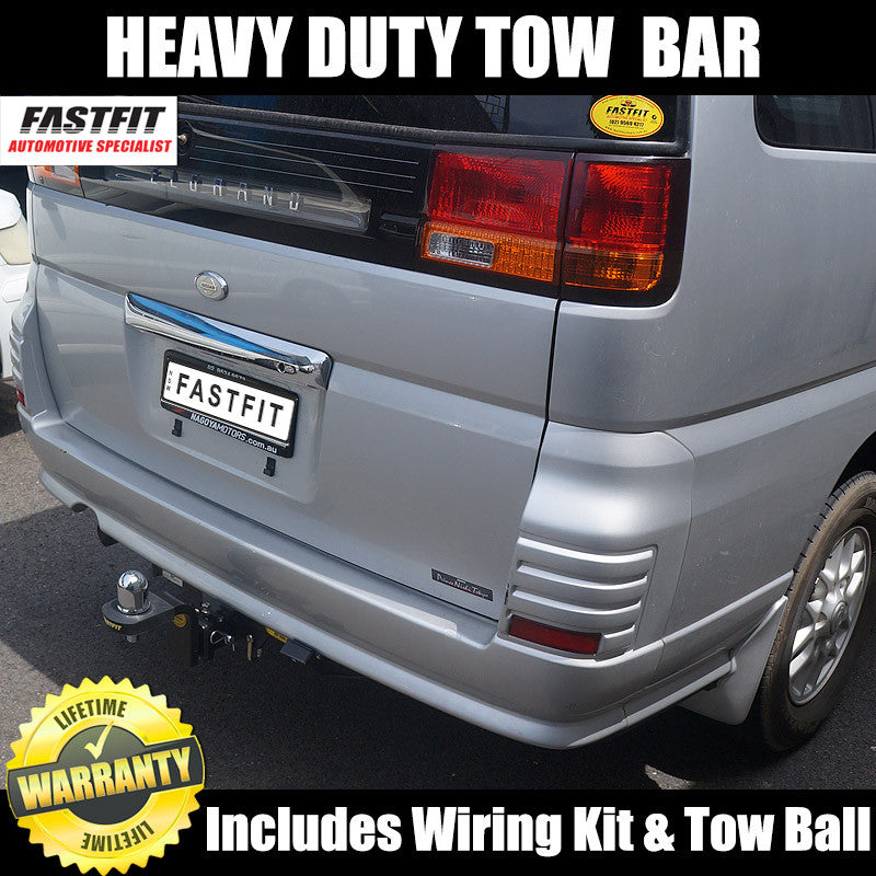 Tow Hitch Bike Rack >> FastFit Heavy Duty Hitch Tow Bar To Suit Nissan Elgrand ...