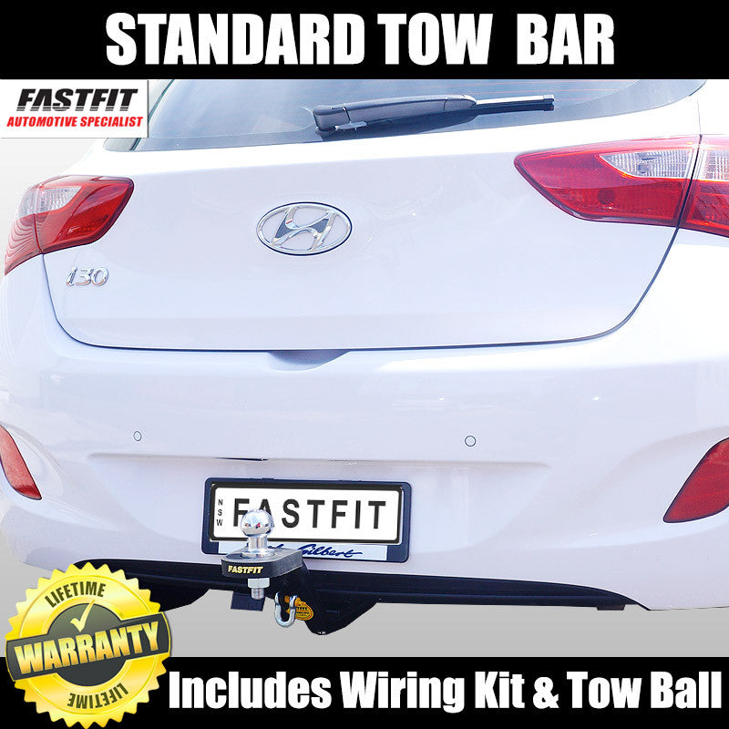 Fastfit Standard Tow Bar To Suit Hyundai I30 Hatch 04 2012