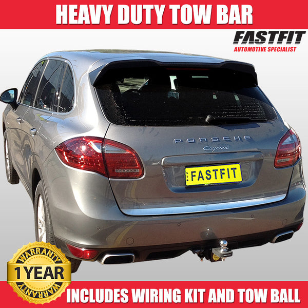 FastFit Heavy Duty Tow Bar To Suit Porsche Cayenne - 2010 To 2012
