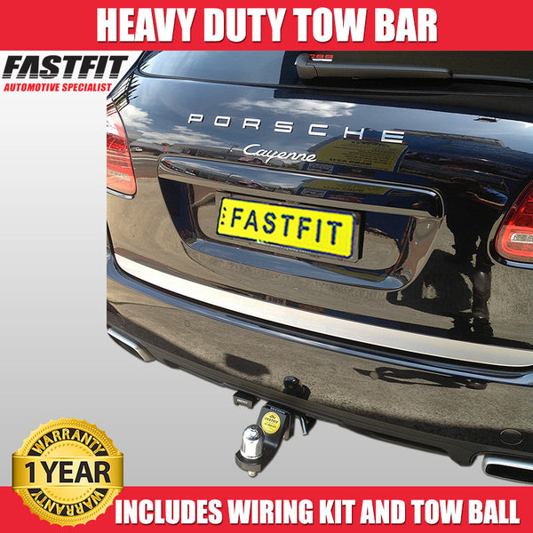 FastFit Heavy Duty Tow Bar To Suit Porsche Cayenne - 2013 ON