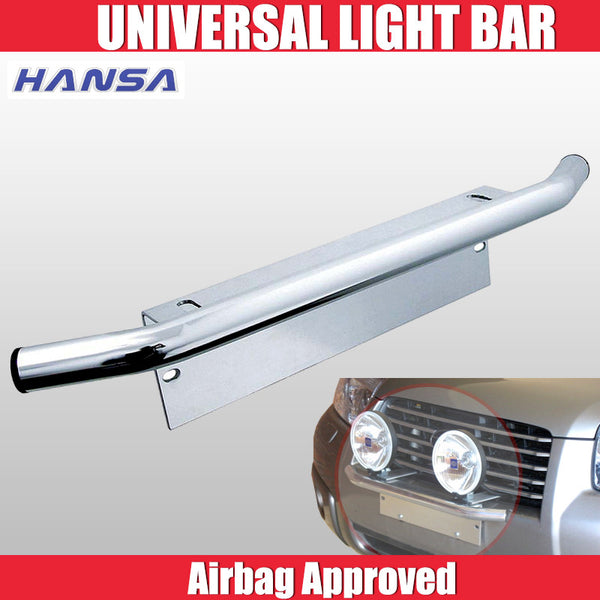 Hansa Universal Light Bar, Number/Licence Plate Mount Suits Any Light Size