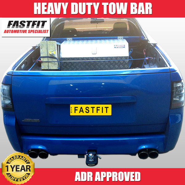 FastFit Heavy Duty Towbar To Suit Holden Commodore VE Ute - 10/2007 ON