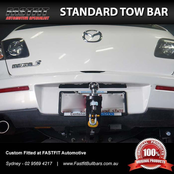 FastFit Standard Towbar to suit Mazda 3 Sedan/Hatch 10/2004-01/2009