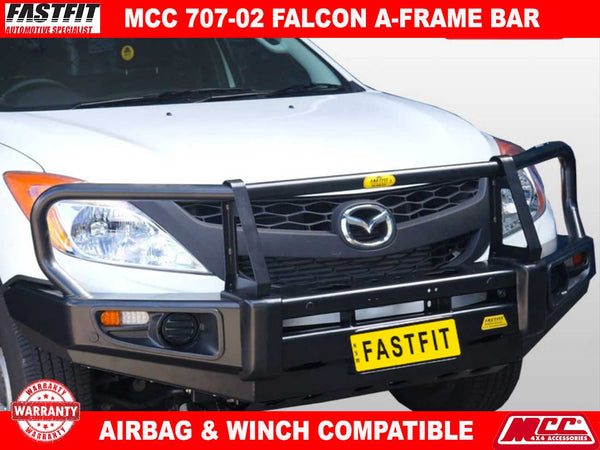 MCC 707-02 A-FRAME Falcon BullBar with Under Protection to suit Mazda BT50 10/2011-ON