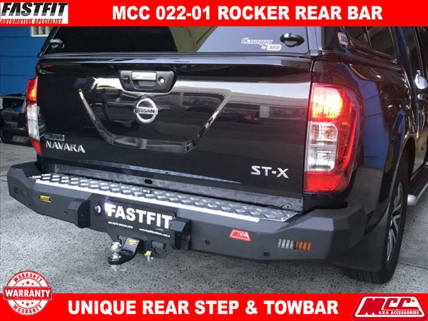 MCC 022-01 Rocker Rear Bar to suit Nissan Navara NP300 06/2015-ON