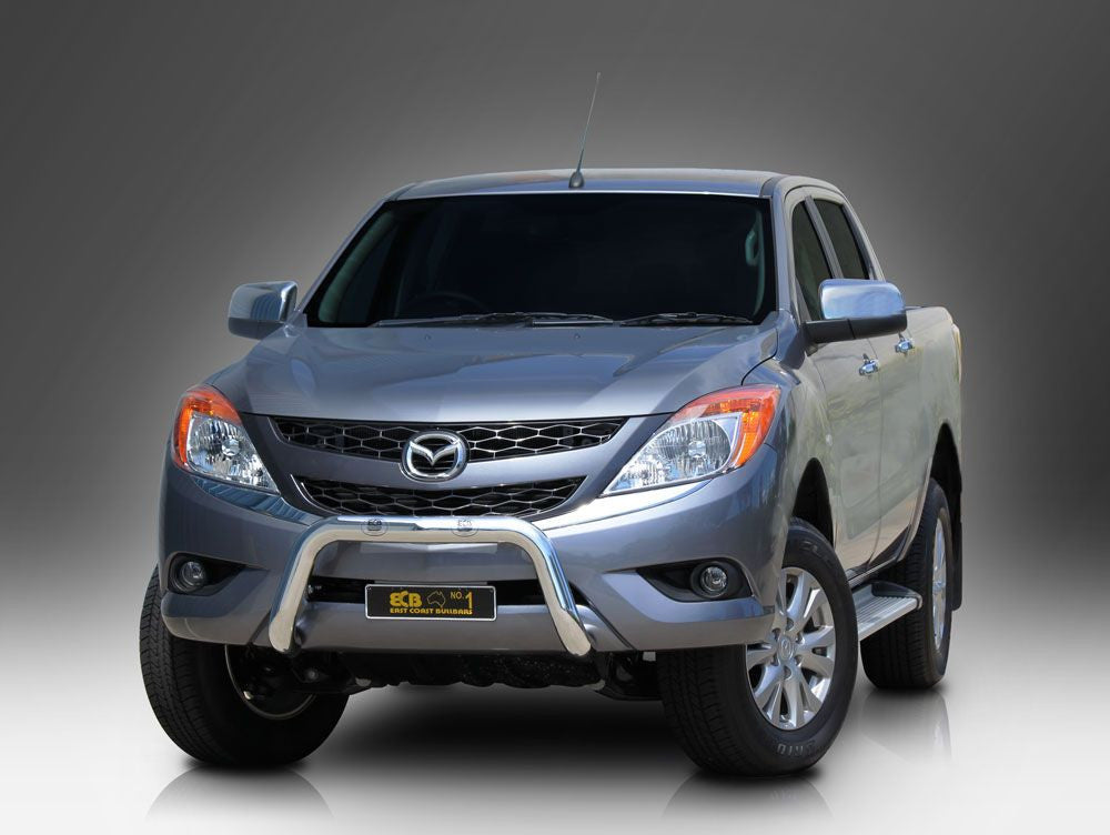 Ecb 76mm Polished Alloy Nudge Bar To Suit Mazda Bt50 10