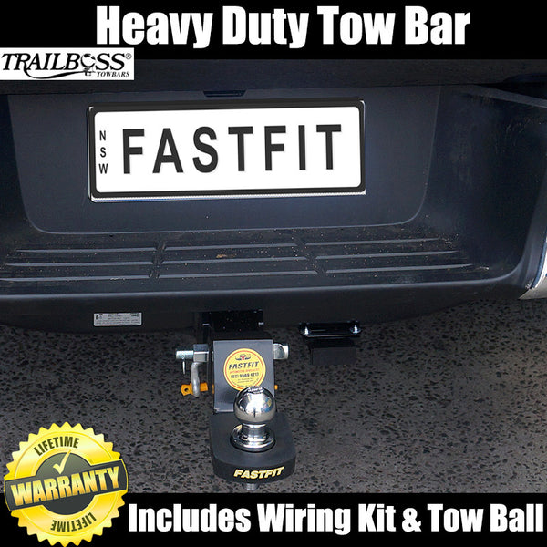 TrailBoss Heavy Duty Towbar To Suit Toyota Hilux 2WD & 4WD Tub Body With Step - 10/2015 ON
