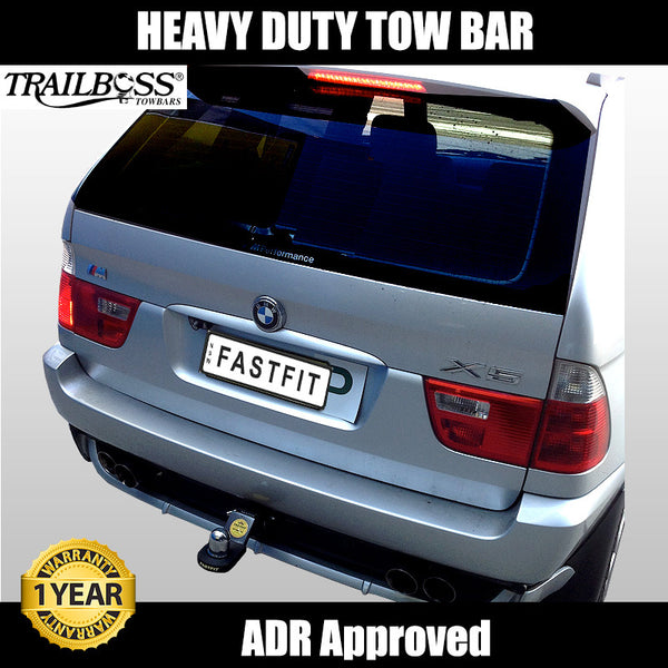 TrailBoss Heavy Duty Tow Bar To Suit BMW X5 E53 4X4 Wagon - 04/2001 To 04/2007