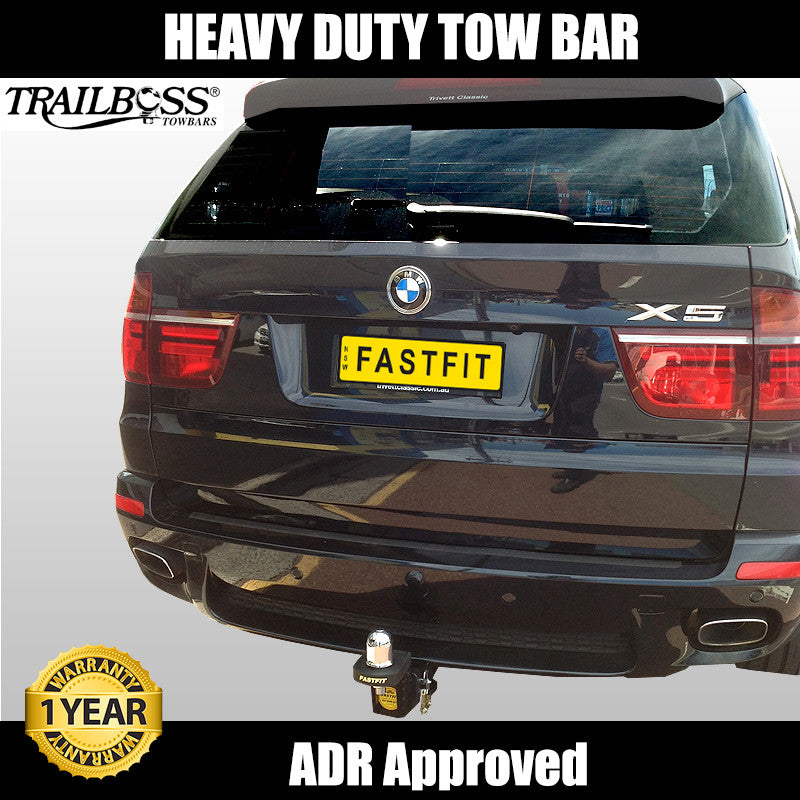 Trailboss Heavy Duty Tow Bar To Suit Bmw X5 09 2013 On