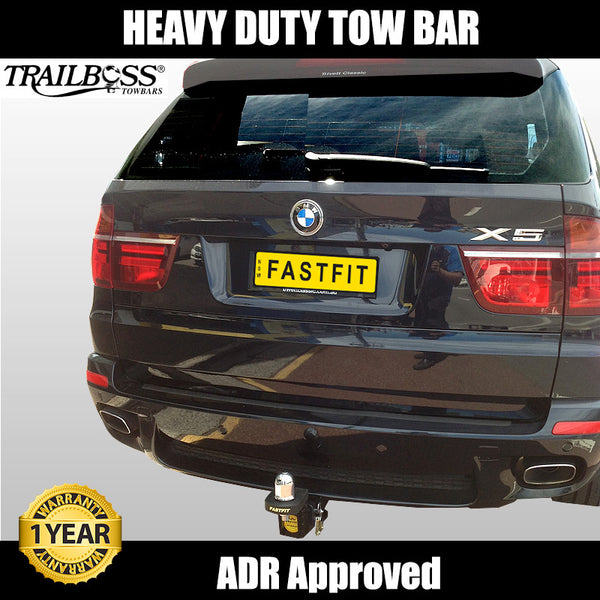 TrailBoss Heavy Duty Tow Bar To Suit BMW X5 - 09/2013 ON