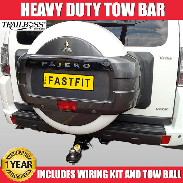 TrailBoss Heavy Duty Towbar to suit Mitsubishi Pajero 11/2006-ON