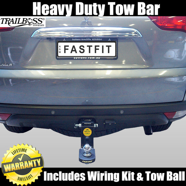 TrailBoss Heavy Duty Towbar To Suit Mitsubishi Challenger (all models) - 12/2009 ON