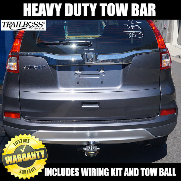 TrailBoss Heavy Duty Towbar to suit Honda CR-V 4WD RM Model (Not Diesel) 11/2012-ON