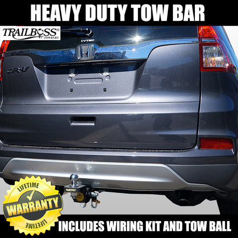 TrailBoss Heavy Duty Towbar To Suit Honda CR-V 4WD RM Model (NOT Diesel) 11/2012 ON