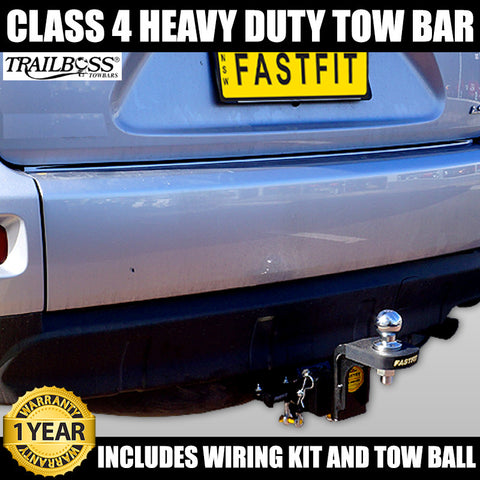FastFit Class 4 Heavy Duty Tow Bar To Suit Hyundai Tucson 08/2004 - 01/2010