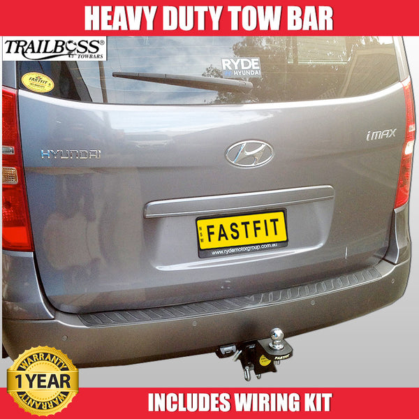 TrailBoss Heavy Duty Tow Bar To Suit Hyundai iMax 02/2008 - ON