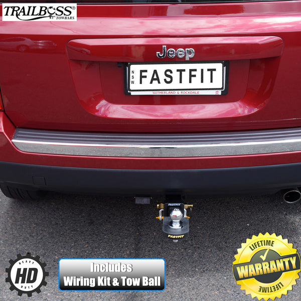 TrailBoss Heavy Duty Towbar To Suit Jeep Compass 03/2007 - 03/2010
