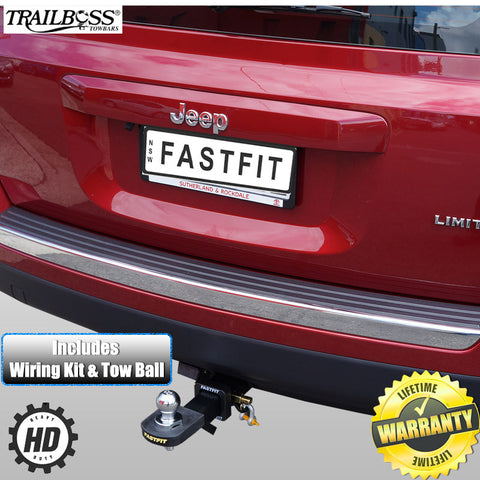 TrailBoss Heavy Duty Towbar To Suit Jeep Patriot 03/2007 - 03/2010